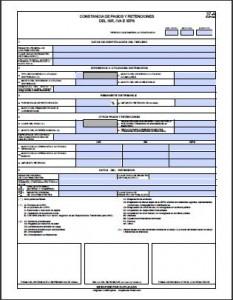 formato 37-a 2012 constancia de retenciones iva isr y ieps editable